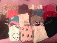 Girls age 8 bundle of clothes