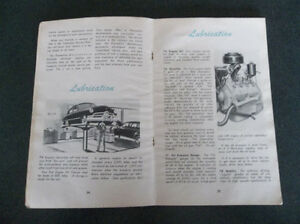 1950 Ford glove box owner's manual London Ontario image 5