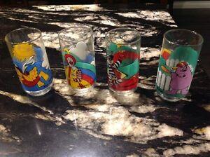 Set of 4 McDonald glass glasses.  Regina Regina Area image 1