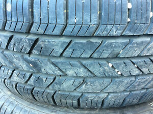 A set of 4 winter tires and rims P 235/ 60 R 17