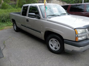 2004 chevrolet silverado,rear wheel drive