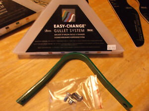 Easy-Change Gullet System gullets and Guage