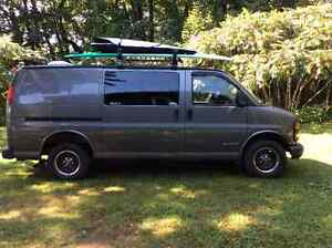 Chevrolet express 2500 campeur