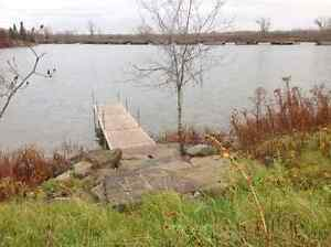 St Lawrence Waterfront 10 plus acres boat ready with dock