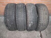 4-205/70R15 M+S WINTER TIRES