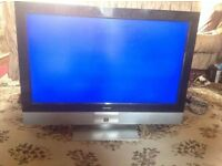 "Bush TV 37"" wide screen lcd good working £70"