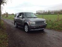 24/7 Trade sales NI 2007 Land Rover Range Rover VOGUE 3.6 TDV 8 HSE Automatic 4+4