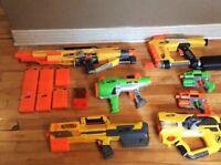 Location d'un ensemble de fusils NERF pour votre fête d'enfants