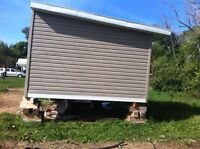 12' x 12' Renovated, Wired & Insulated Mobile Addition for Sale