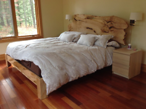 Live Edge Beds and Headboards