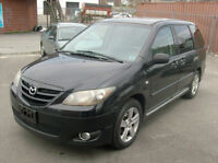 2004 MAZDA MPV EXL LOADED LEATHER INT. ONLY $2790.