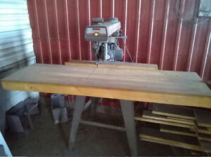 Radial Arm Saw and Table saw.