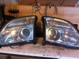 Pre face lift 05 reg and under vectra front lights