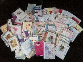 170+ quality greeting cards individually wrapped. Ex shop stock
