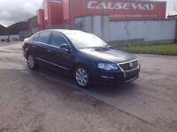 24/7 Trade sales NI Trade Prices for the public 2005 Volkswagen Passat 2.0 TDI SE Blue
