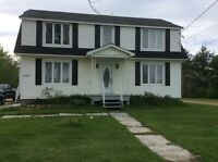 Large house on 5.5 acres with granny suite located in Neguac