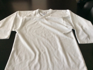 Practice White Hockey Jersey Youth Size S/M 2 Available