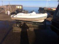 Boat trailer for 10-14ft boat