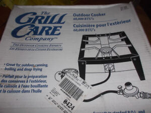 Brand New Grill Care Propane Outdoor Cooker