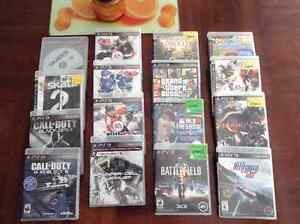 PS3 Games 15 each