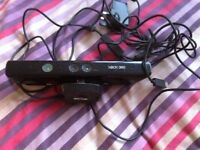 Xbox 360 kinnect and games