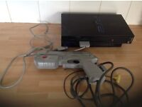 Sony PlayStation 2 console and lead