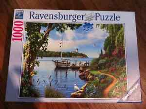 Lot de 2 puzzle Ravensburger (1000 et 1500 pieces)