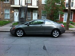 2007 Honda Civic LX Coupe (2 door) 85000 KM Only!!!