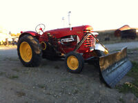 Massey Harris tractor for sale