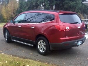2012 Chevrolet Traverse LT AWD Prince George British Columbia image 3