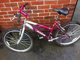 Magma girls mountin bike