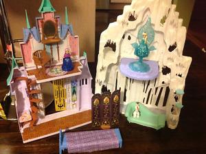 Disney's Frozen Elsa and Anna castle