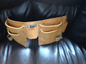 New Mastercraft Suede Leather Tool Belt