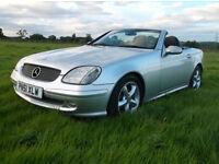 01 51 Mercedes-Benz SLK200 Kompressor 2.0 6 Spd. Manual Only 116,000 Miles .