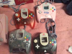 Sakura Wars dreamcast Console 4 Controllers, Gunbird 2