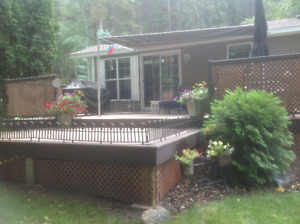 2010 Park Model trailer & lot Creekside in the Canyon, Radium BC