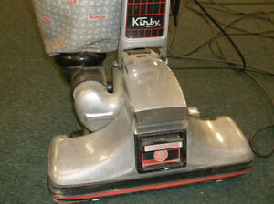 Kirby vacuum with attachments