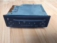 Renault Clio Original 2001 to 2006 Car Cd Player Stereo With Security Code,Perfect Owned From New