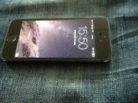 IPhone 5s 16 gig  Space grey
