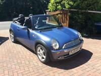 2005 MINI COOPER 1.6 MANUAL CHEAP CONVERTIBLE!!