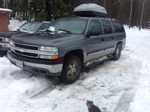 2001 Chevrolet Suburban Delivery avail