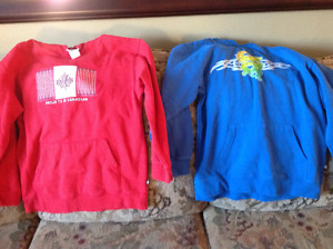 Sweat shirts 2 for $8.00