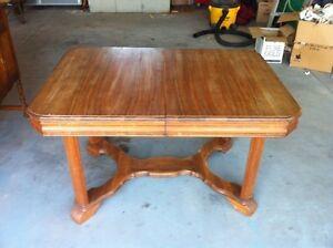 Antique table $40