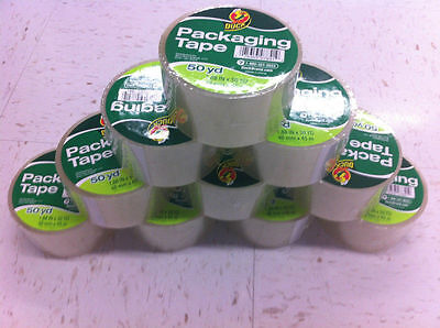 20 Rolls Clear Duck Duct Packaging Packing Carton Shipping Tape 1.88 X 50 Yards