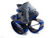 Kangoo style Fitness Jumps UK Size 8-11 / 50-95 KG / BLUE + 1 Shell * Jumping Shoes