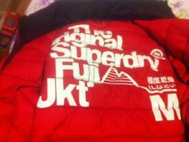 Boys superdry coat