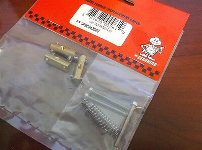 NEW - Genuine Fender Vintage Tele Bridge Saddle Set, 099-0843-000