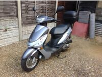 Peugeot V Clic 49cc very good condition ,low mileage.