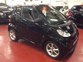 2011 (11) SMART FORTWO CABRIO 1.0 PULSE MHD 2DR AUTOMATIC