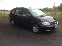 2003 Chrysler voyager 2.5 crd black 7 seater no mot hence price